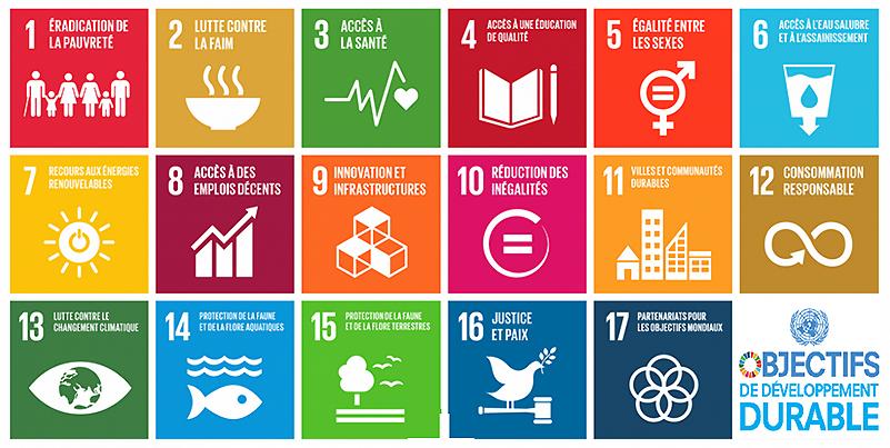 A la découverte des 17 Objectifs de Développement Durable